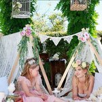 "Visit https://t.co/2n0L40LUCS to find the best party ideas! 44 Likes, 2 Comments - Party Affairs (@partyaffairs) on Instagram: ""Waking up in a magical tent - decorated for only the BEST princesses in the land ?? Only by…"""