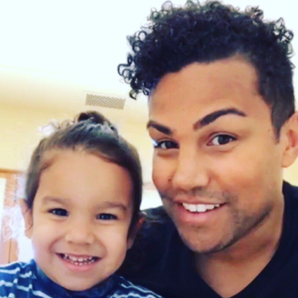 A snapshot from our live video today. This kid cracks me up. Such a personality. I love you, Rio! #familyrules