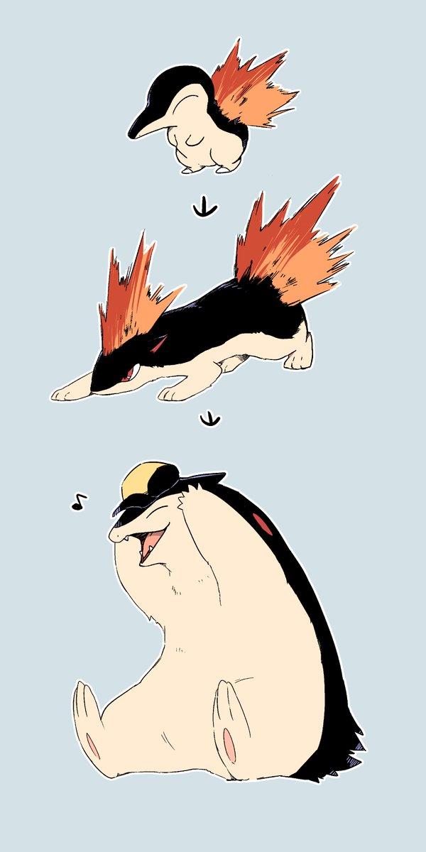 ヒノアラシ顔のバクフーンが好き