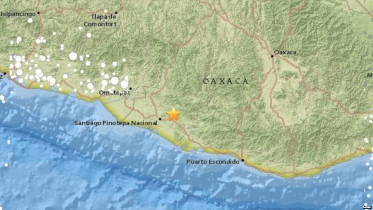 Terremoto de 7.2 estremece costa de Oaxa...