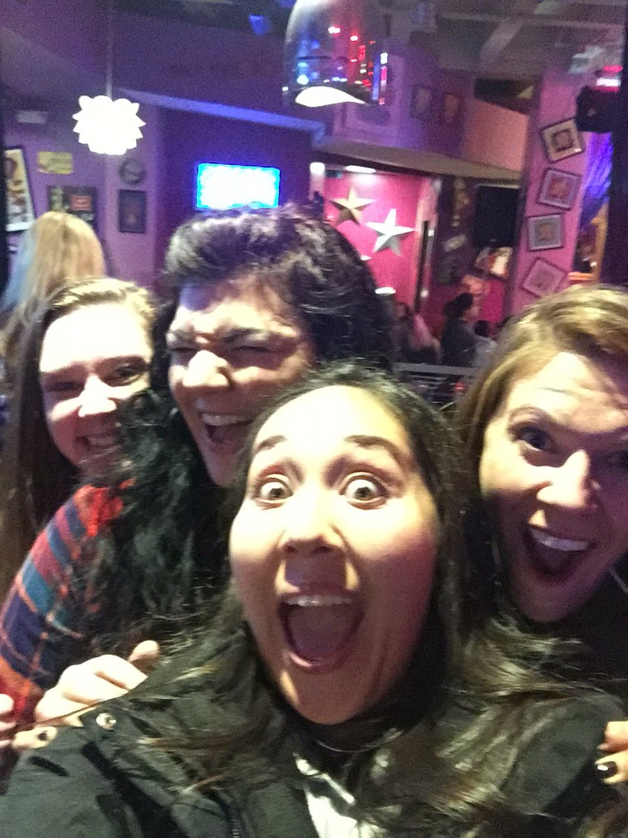#maryskc getting ready to party it up with the gals