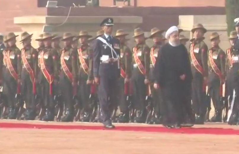 #Delhi: Iran President Hassan Rouhani in...