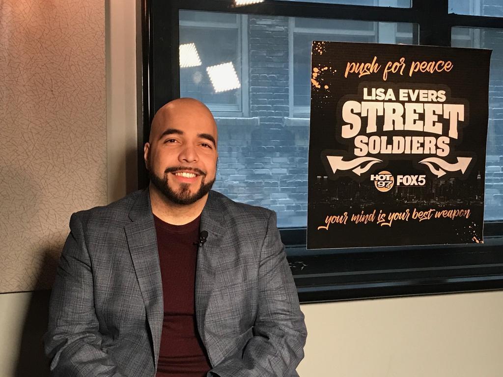 I'm on #streetsoldiers tonight talking #...