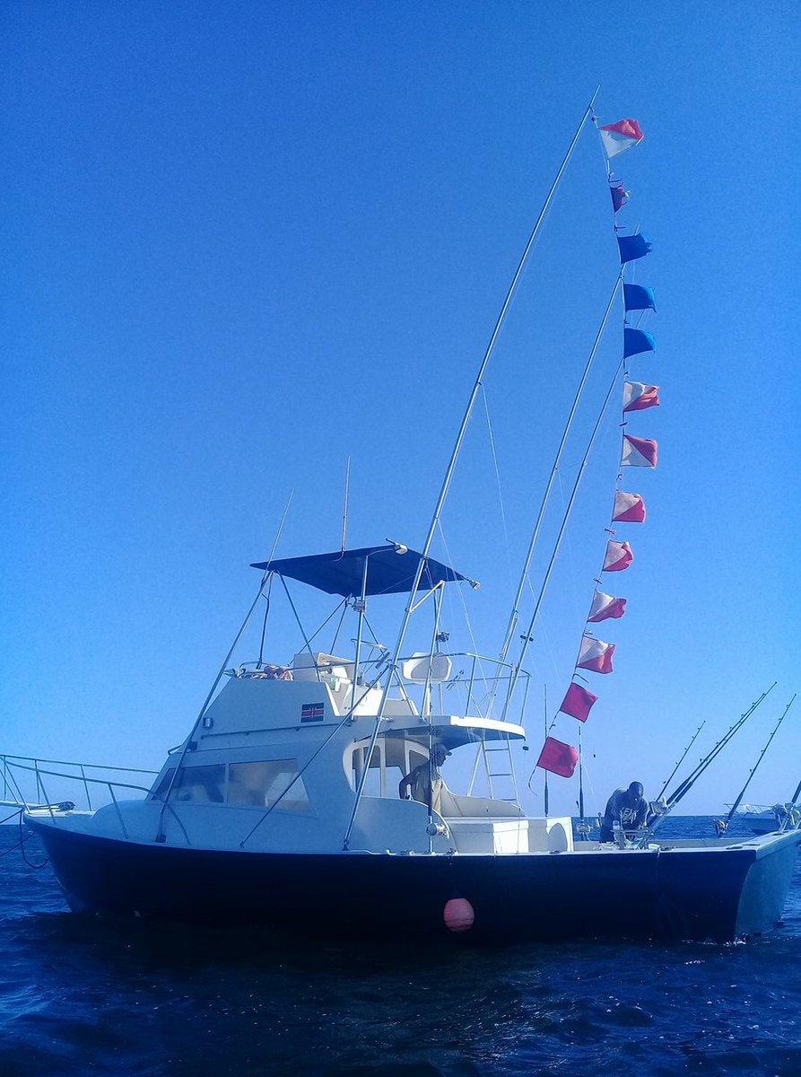 Watamu, Kenya - Tarka released a Double Grand Slam on an overnight with 3 Blue Marlin, 7 Swordfish and 2 Sailfish.