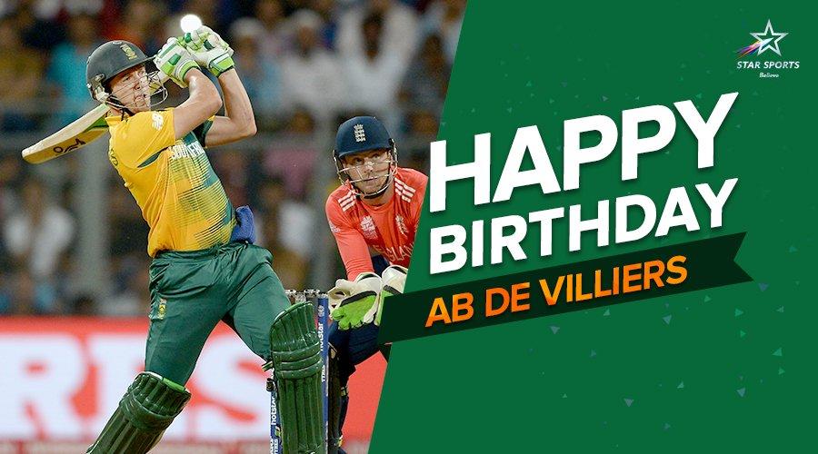 Happy birthday ab de villiers photos