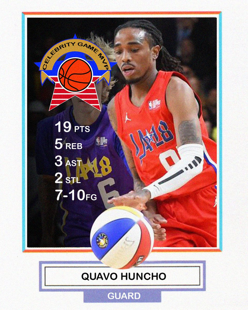 Congrats to @QuavoStuntin on that #NBAAl...