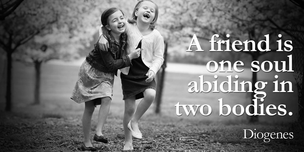 A friend is one soul abiding in two bodies.- Diogenes #quote #Thankfulquote <br>http://pic.twitter.com/suhXlfYMHN