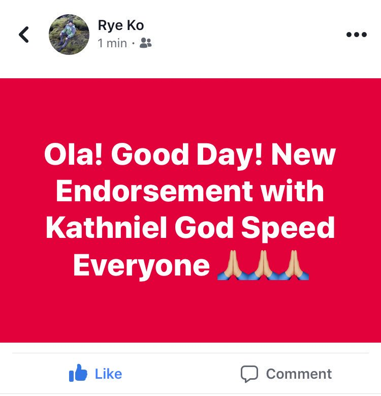 Endorsement shoot for KathNiel today!  🙏...