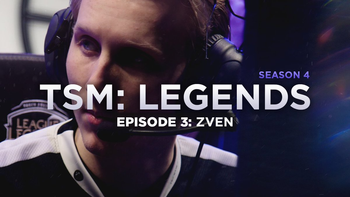 Episode 3 of #TSMLegends 'Zven' is out n...