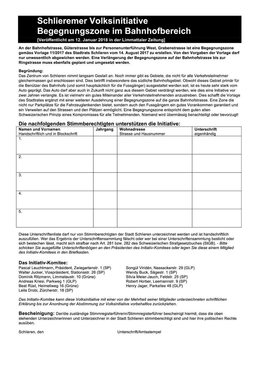 Unterschriftenliste Maststall Meilsen Runder