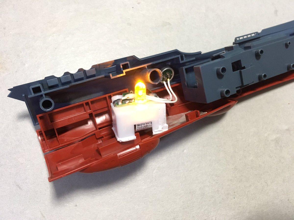 test ツイッターメディア - ダイソー『LED不思議なキャンドル』をばらしてみた。例えば『1/1000 宇宙戦艦ヤマト2202』の側面窓枠に沿ってごく小さな穴を開けてセンサースイッチを仕込むことができる。 #ダイソー #宇宙戦艦ヤマト https://t.co/QidnwT9x0s