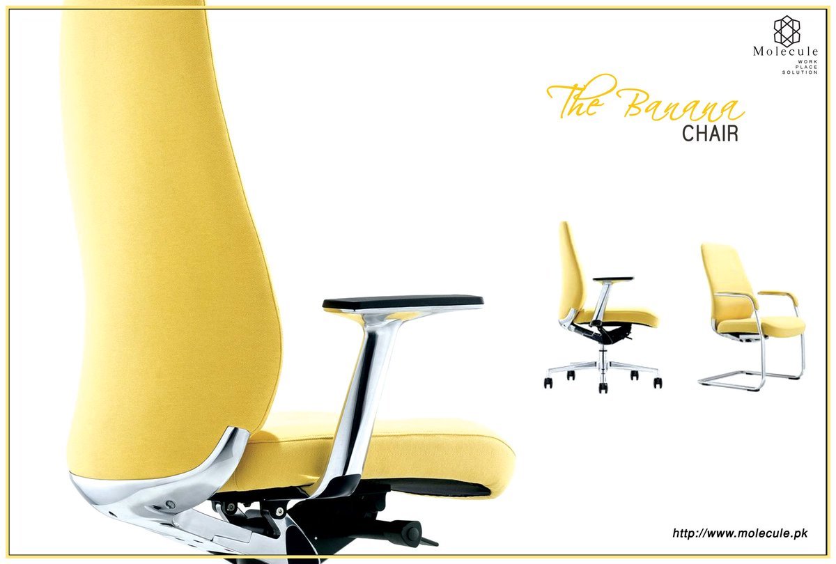 #Banana #Trendy #Design #Art #Executive #Trend #Fashion #NewRelease #Chairs  #Furniture #Imported #Quality #Molecule #MoleculePakistan For More, ...