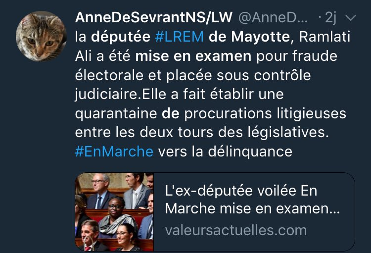 4 ministres exfiltrés du gouvernement de Macron , une députée LREM mise en examen pour fraude électorale @CCastaner un commentaire ?