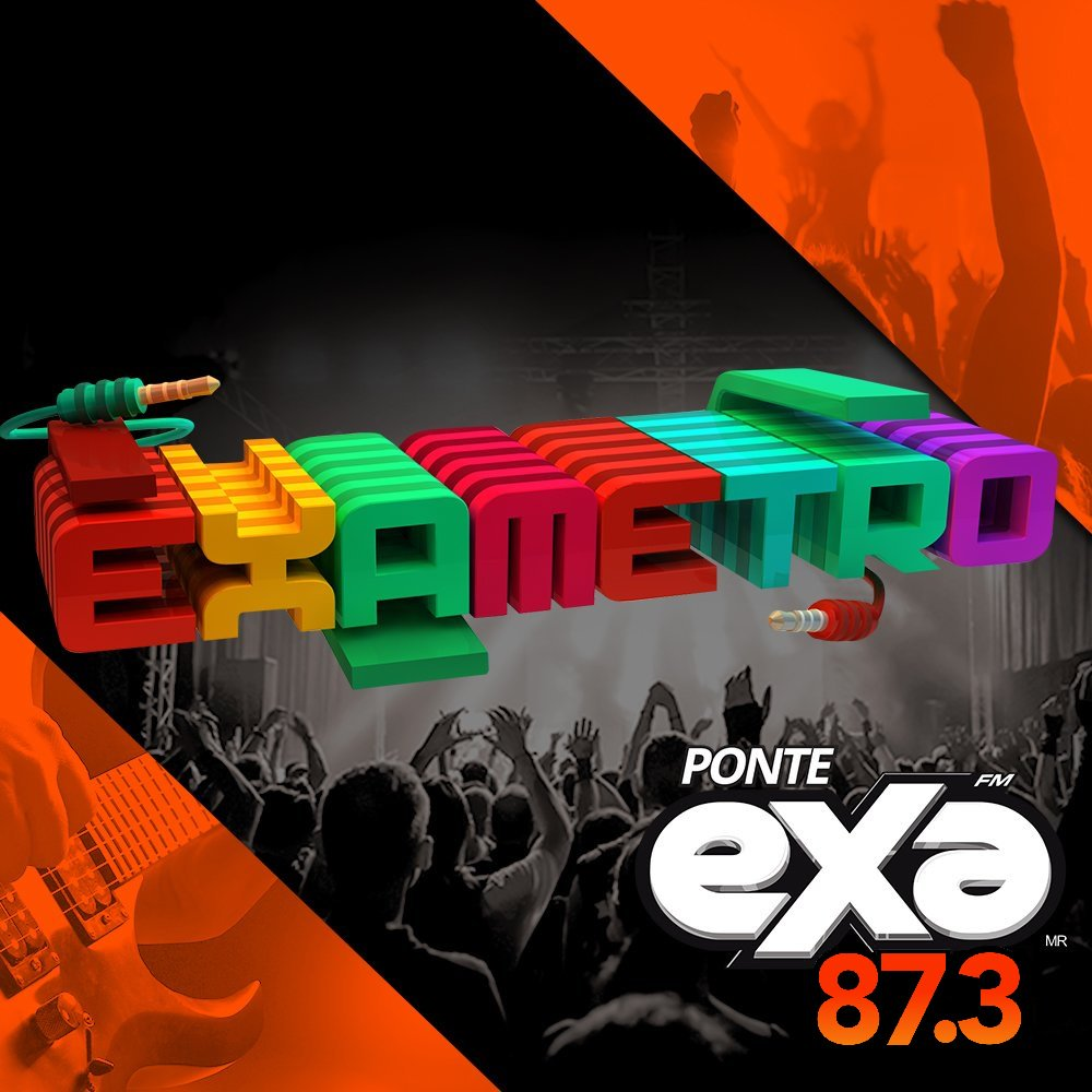 #ElExametro🇲🇽 de @ExaFM por @87Punto3!🎧🔝...