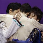 昌磨…こんな安らかな顔してんのに、メダリスト3人で抱き合ったときも「英語なのでわからなかった」ってwwwwwwww