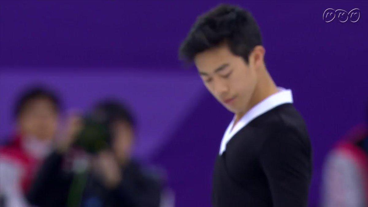 【ノーカット実況なし】 #ネイサン・チェン 、その姿にソチ五輪の #浅田真央 さんを重ねた人は多いはず。フリー1位 #NHKピョンチャン