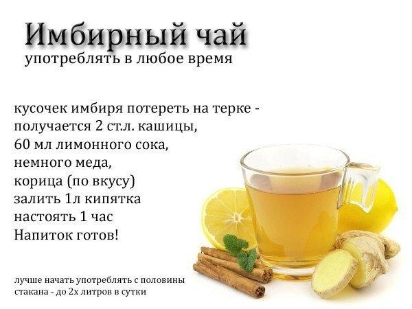 Как Похудеть На Имбирном Чае.