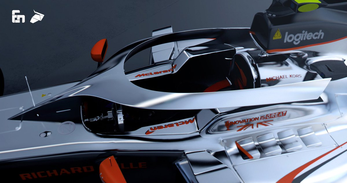 """sean bull design on twitter: """"mclaren mcl33 livery and halo design"""