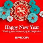 Wishing you good fortune and good health for this year of the dog. Happy Lunar New Year! From your friends at Epicor.