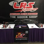 All set up at the 2018 Shriners Drag Racing Expo