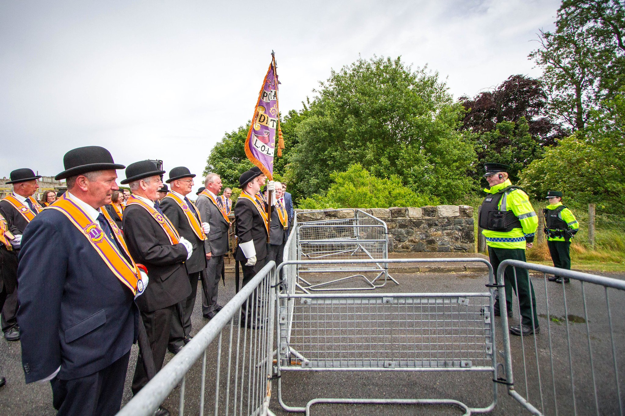 Grand Lodge calls for parading 'fresh start'