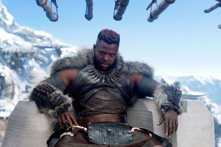 Has an appropriate amount of time passed since #BlackPanther to talk about how beautiful @Winston_Duke is? #MBaku https://t.co/JH0AFpTw6o
