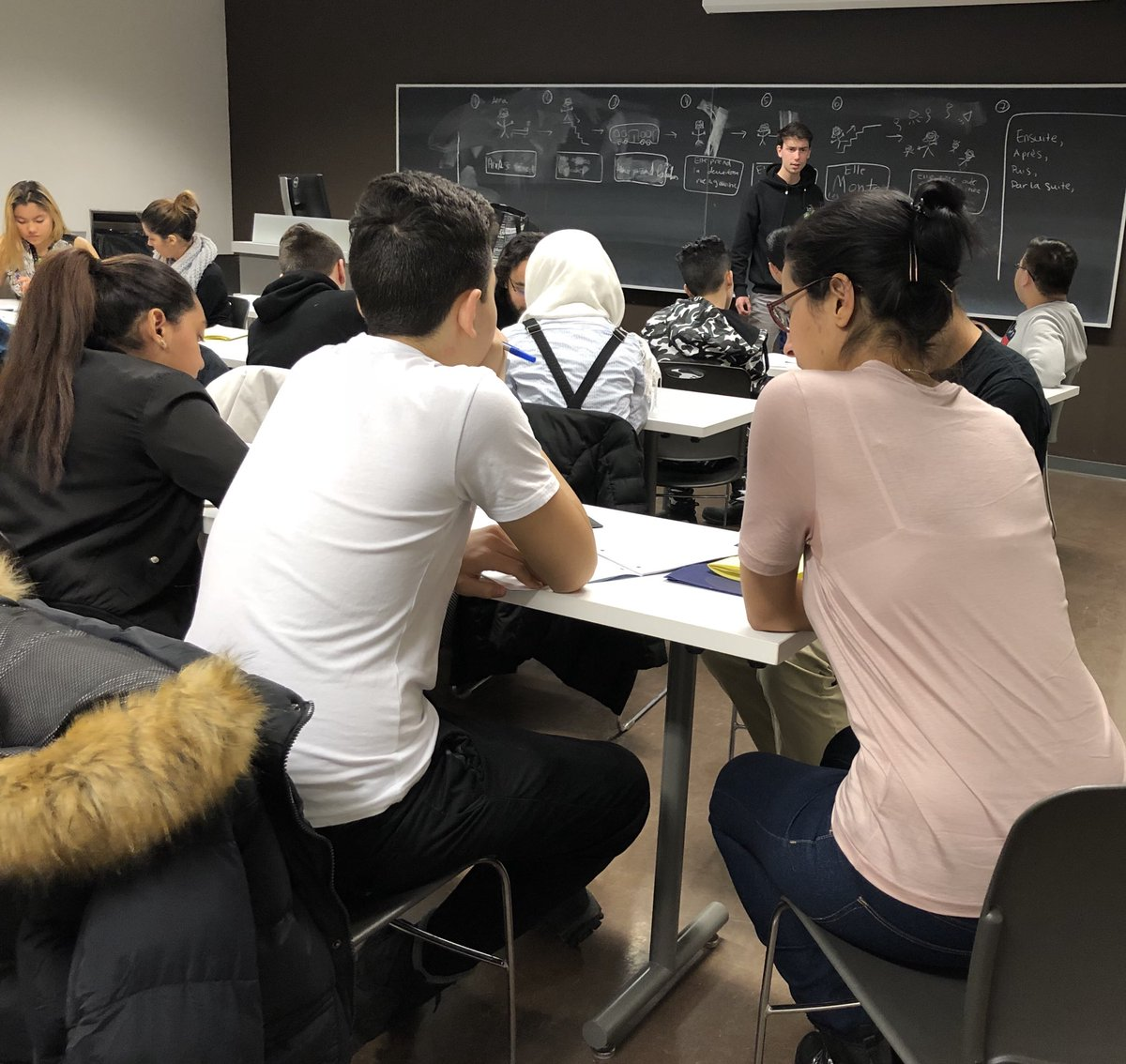 test Twitter Media - Bright and early at 9 am, all year round, Say Ça! gives refugees and newcomers in #Montreal free ESL and FSL lessons, personalized to help their needs. https://t.co/IGxkYDOQIj