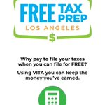 #FreeTaxPrepLA will be at Leland Library in South Gate to file your taxes & claim #CalEITC! This year, it's up to $2,775!