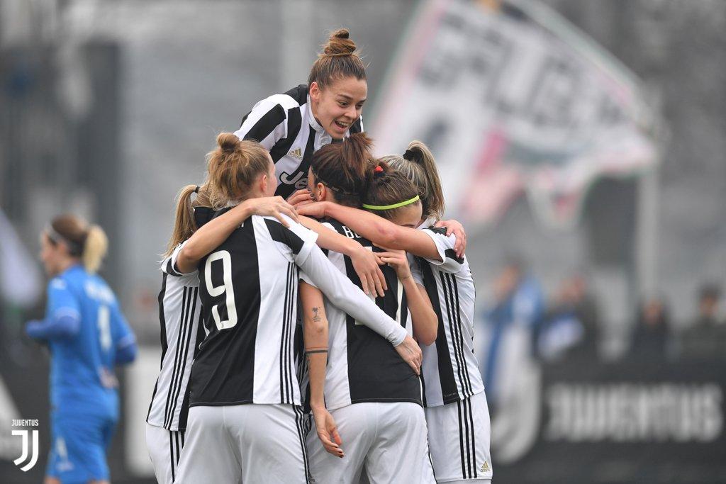 ... E sono 1️⃣4️⃣ vittorie consecutive! 💪💪💪  Il #MatchReport di #JuveEmpoli 4️⃣ - 0️⃣: ennesimo successo della #JuventusWomen ➡️ juve.it/nVbP30isGvR ⚪️⚫️