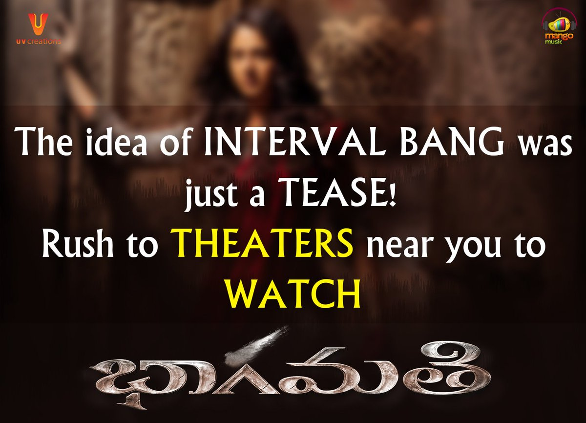 Experience #Bhaagamathie at your nearest...