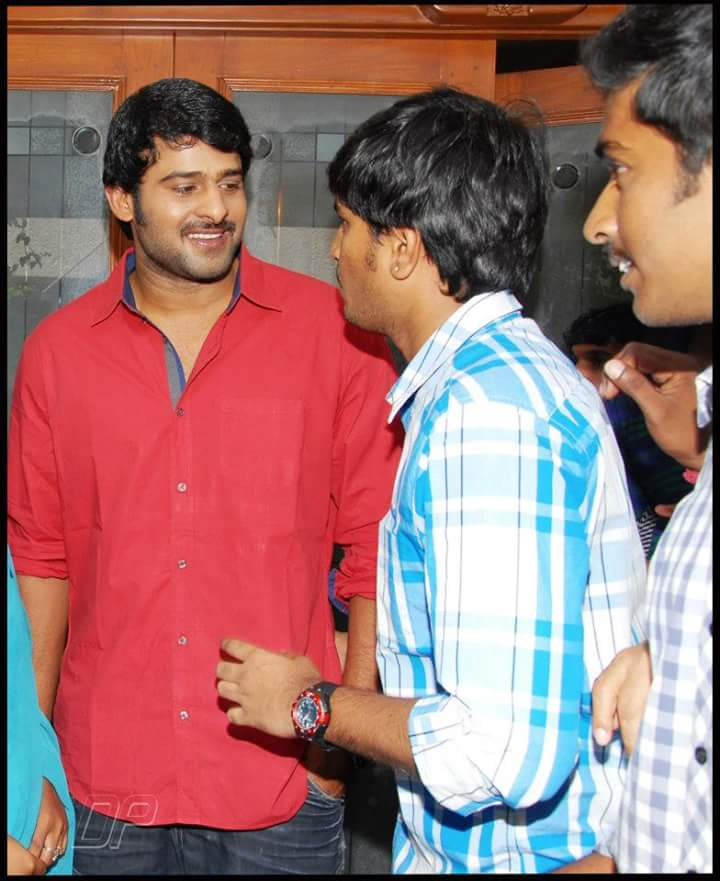 P R A B H A S With Fan ❤👌👌  Unseen pic #...