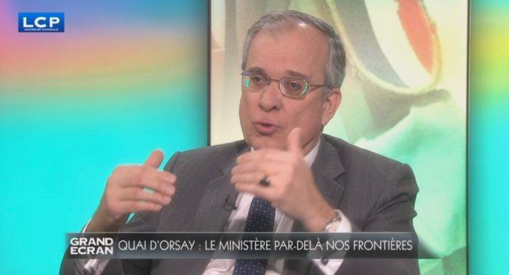 Gourdault-Montagne : 'Le ministre des Affaires étrangères détermine la place de la France dans le monde en fonction des orientations données par le Président de la République. Il ajuste notre position au quotidien' #GdEcran