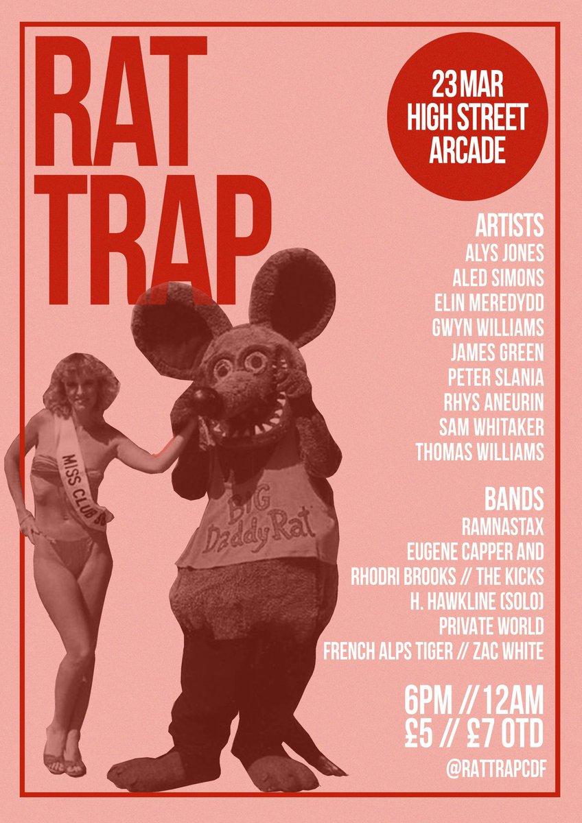 Rat Trap (@RATTRAPCDF) | Twitter