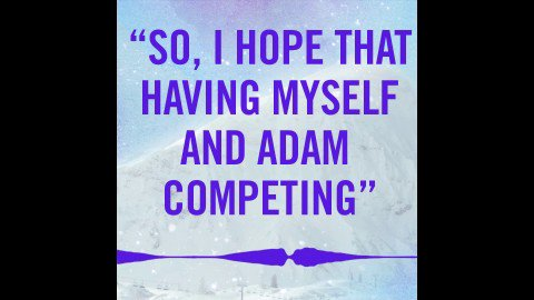 NBC Olympics's photo on Adam Rippon