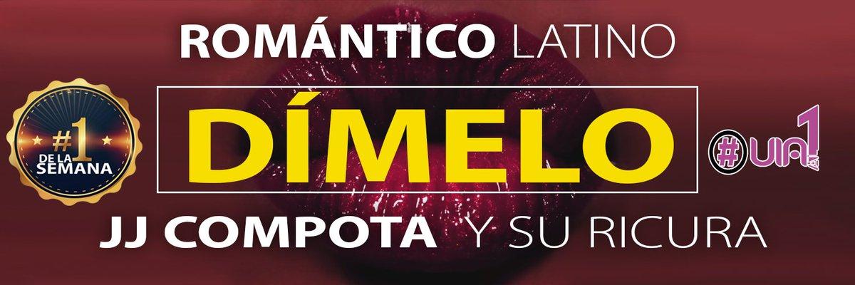@RomanticoLatin1 y @compotayricura con #Dimelo son el Nº1 de la semana en #viaal1 la lista de @via_radio ENHORABUENA https://t.co/iFv9xIte7A