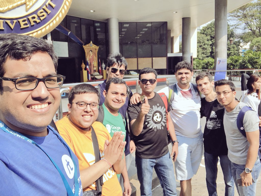 test Twitter Media - Kicking off @WordCampBKK with our #WordCampCrazy gang! Thanks @rahul286 @hiddenpearls @rambogenius @_Rupok_ @psahalot @HardeepAsrani @jaymanpandya  #WCBKK #WordCampBangkok #WordCamp #Bangkok #Thailand #WordPress #WCCrazy https://t.co/0tk4Thgbcq