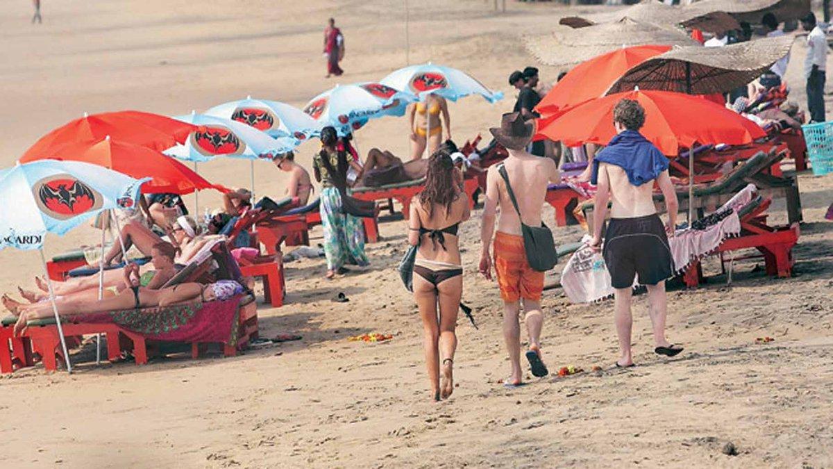 пляж проституток гоа