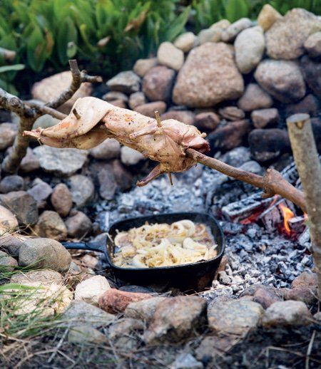 Primal Cooking: How to Roast Meat on a S...