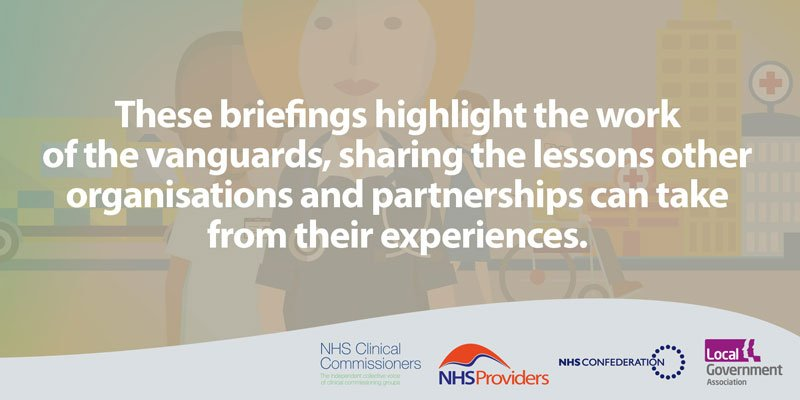 Working with @NHSCCPress, @NHSProviders and @LGANews, we have published a series of briefings to help organisations learn from the experiences of #futureNHS vanguards https://t.co/cY9ShG3Dyk