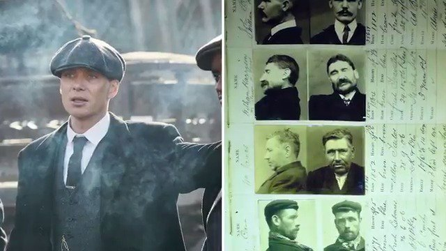 Who were the Peaky Blinders and how accu...