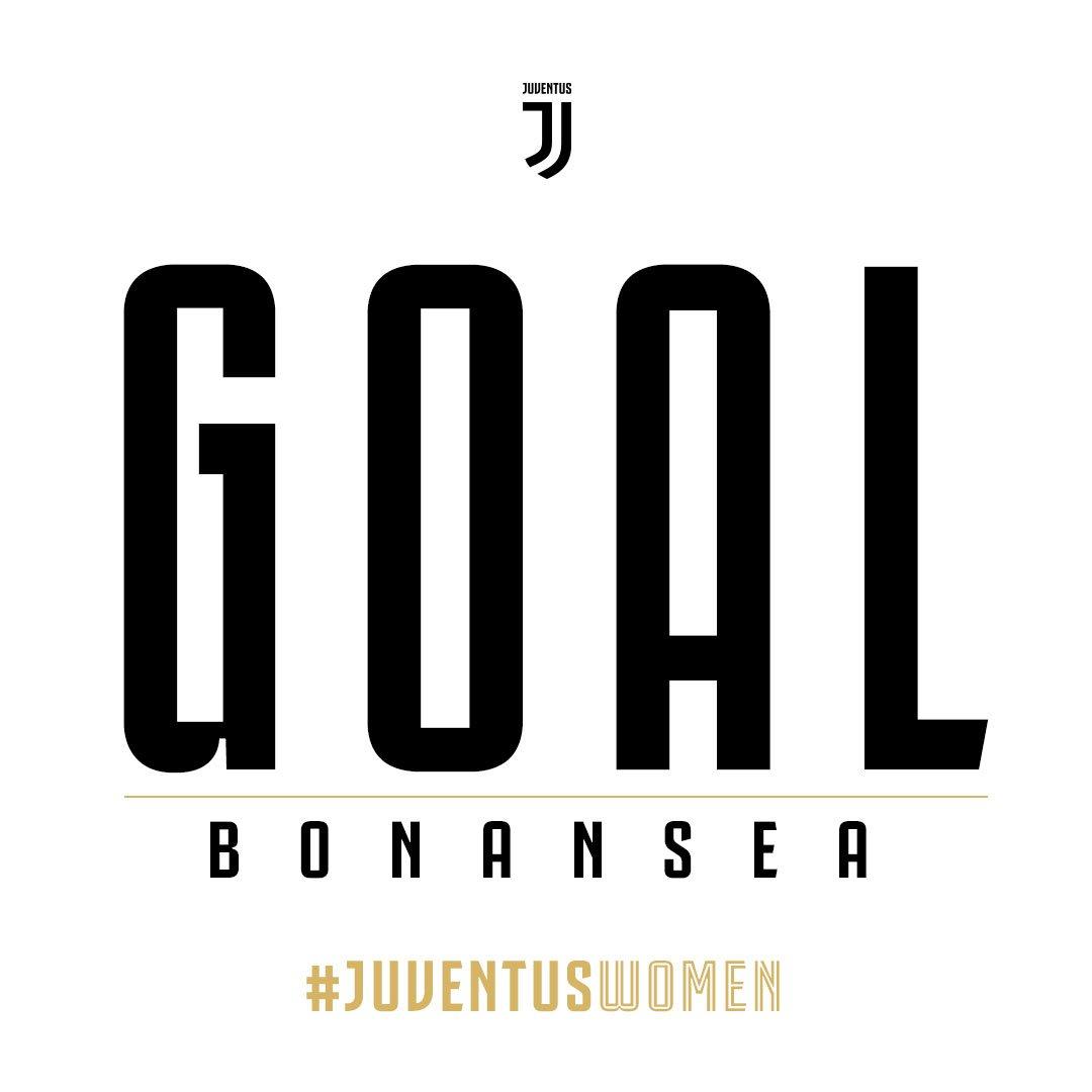 18 GOOO⚽️AAAAAALLLLLL!!!!!! BONANSEAAAAAA!!!!  #JuveEmpoli 1-0 💪 #JuventusWomen 🏳🏴
