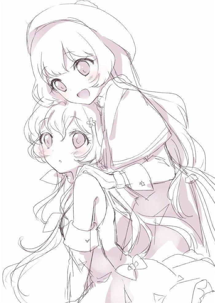 ひめ先輩とほよちゃんは姉妹みたいでかわいい。