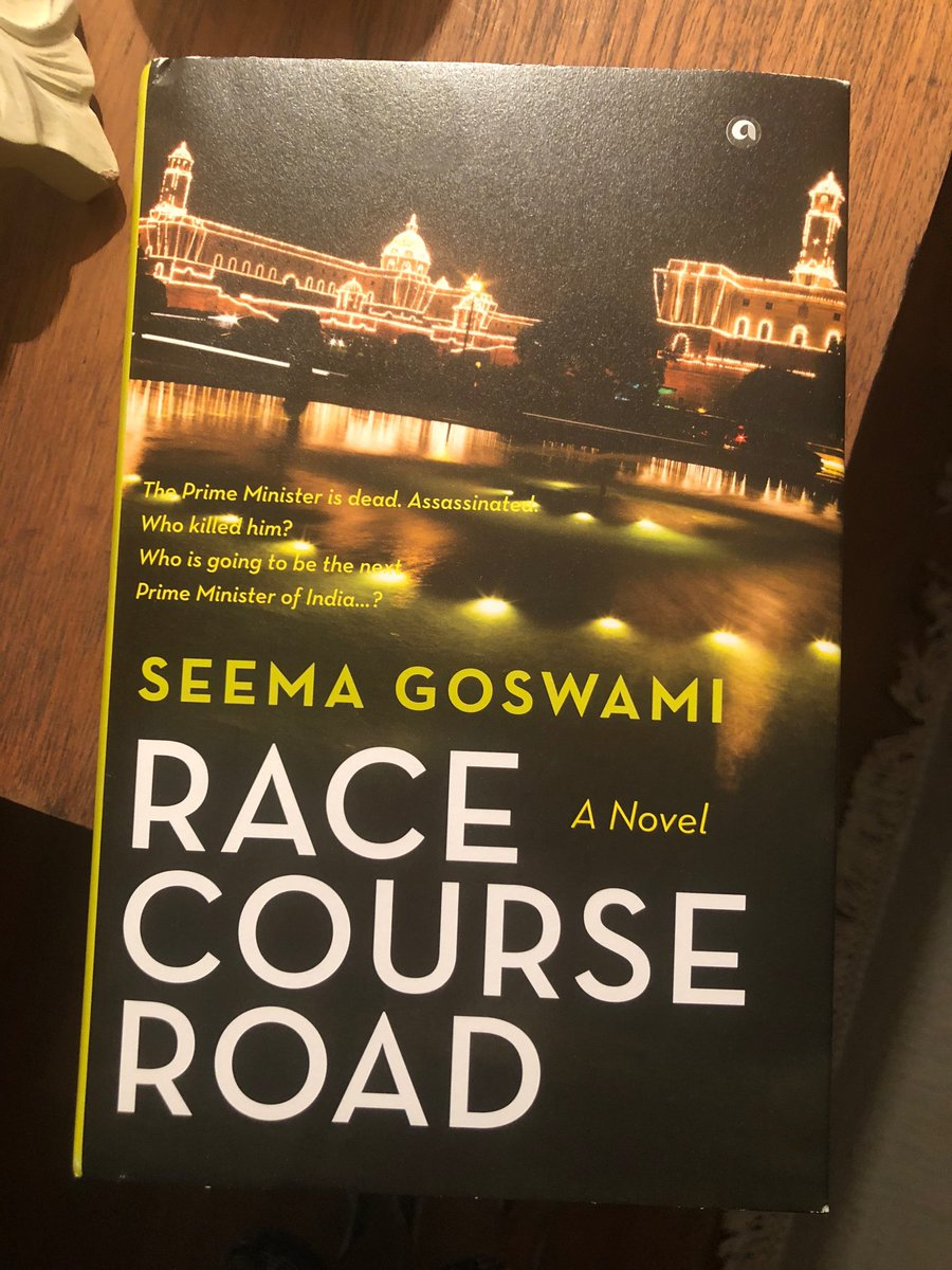 Thank you @seemagoswami for the book! I'...