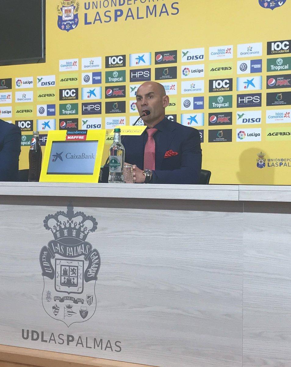 """Paco Jémez: """"Este equipo no baja los brazos y no da los partidos por perdidos, creo que de esta manera vamos a ganar mucho y en eso estamos. Tenemos que ceñirnos a lo que depende de nosotros""""."""