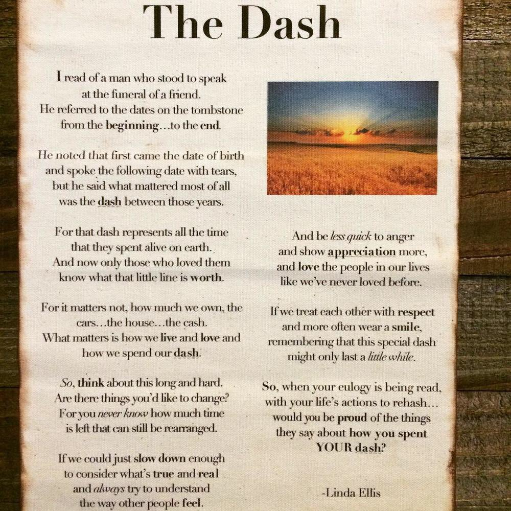 photo about The Dash Poem Printable named Sprint Poem Printable 46221 Quotations of the Working day