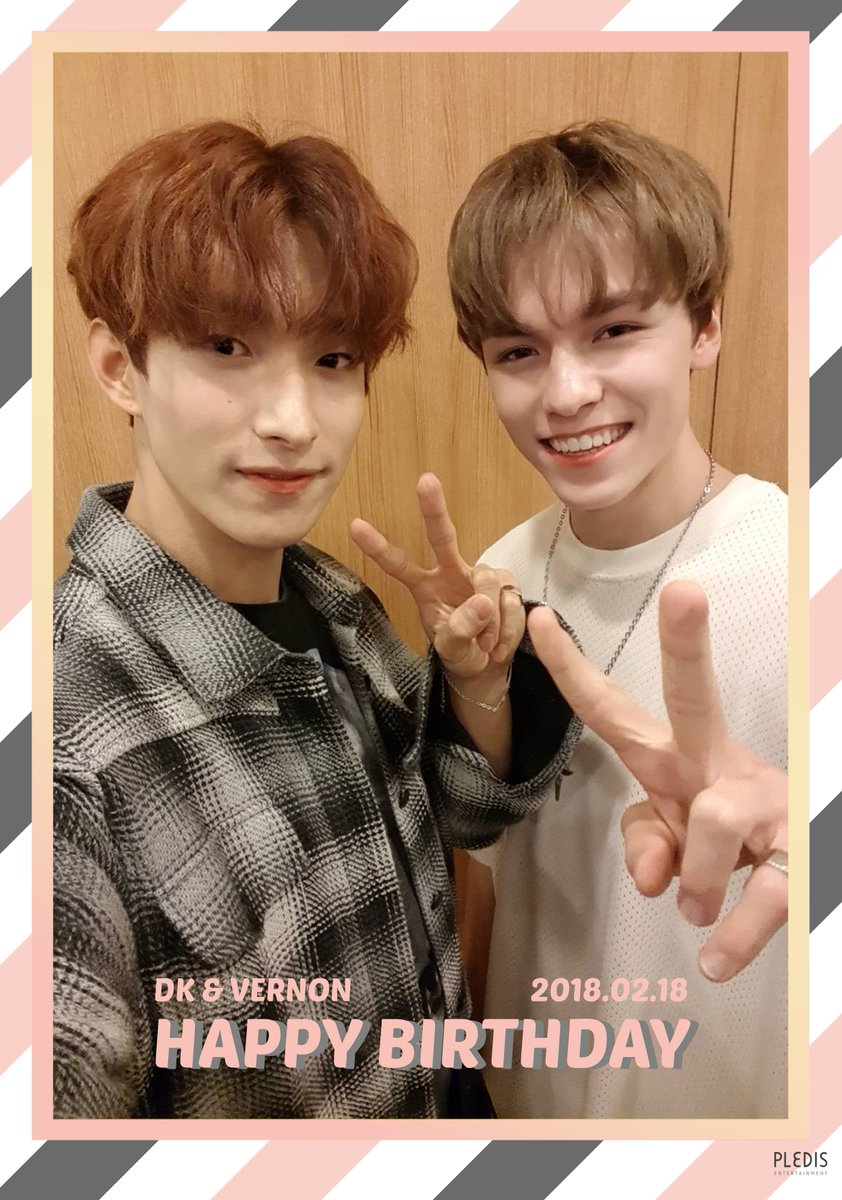 20180218 Happy DK&VERNON's Day 💞  #H...