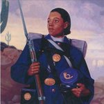 Cathay Williams was the 1st and only known female Buffalo Soldier. Williams was born into slavery and served in the Union Army during the Civil War.  She posed as a man and enlisted as William Cathay in the 38th infantry (1866 - 1868). #BlackHistoryMonth #PowerInOurVoice #DST105