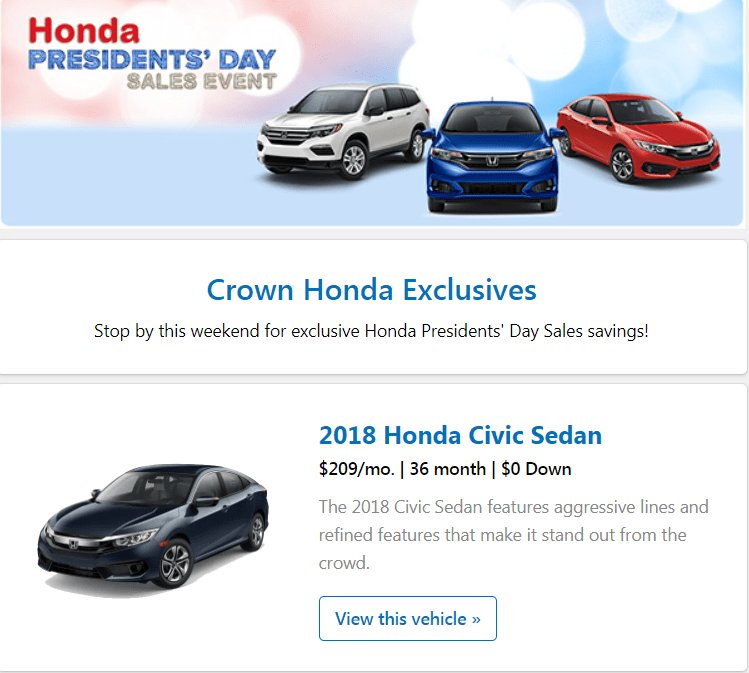 ... We Are Honoring All Of Our Presidents Past And Present By Offering  Savings For ALL! #Greensboro #NC #Honda #Savings  #NewCarspic.twitter.com/e9elzYYUoD