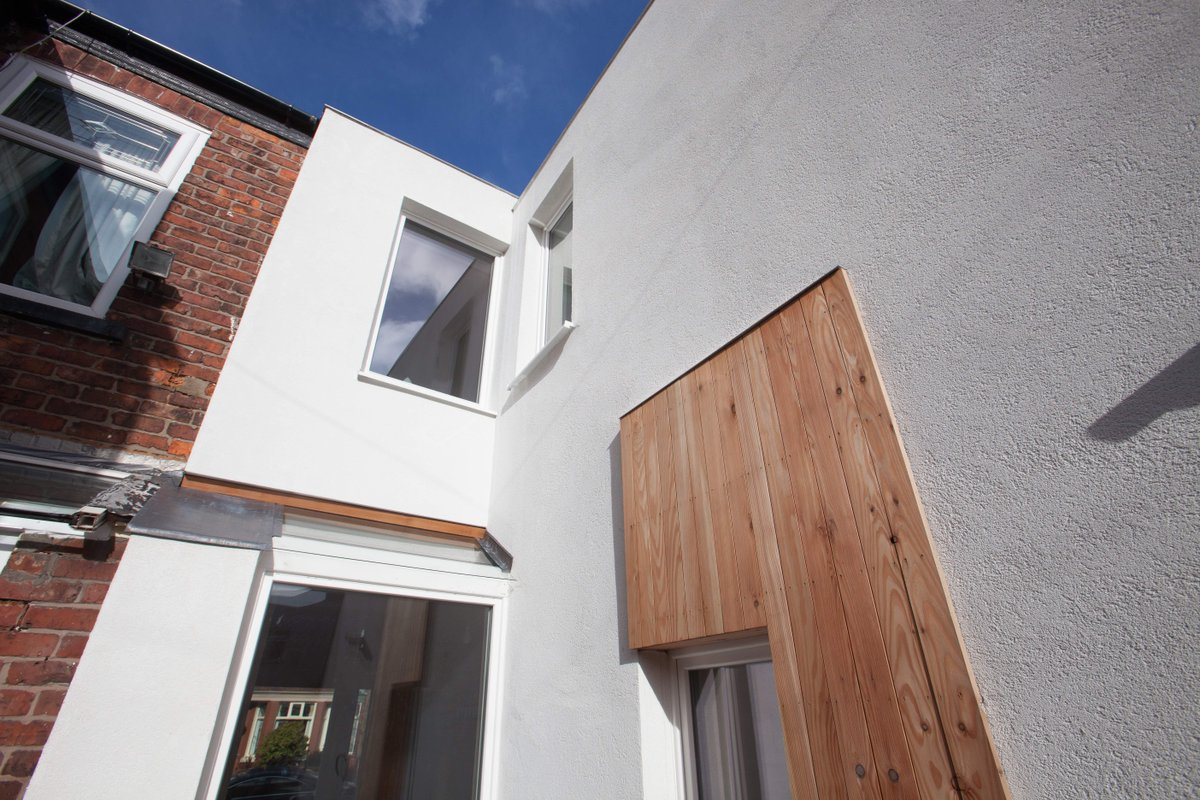 #retrofit Of Terrace In #levenshulme, Wood From @GM_TreeStation, Windows   @passivhausnews, Insulation   @BacktoEarthLTD,  #GMGreenCitypic.twitter.com/ ...