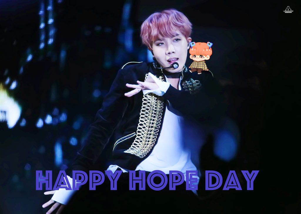 Happy J-Hope Day 💕💕💕💕 JHOPE 's birthday...